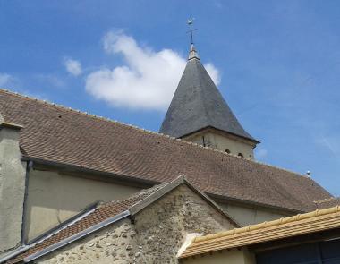 Clocher de l'eglise Saint Antoine